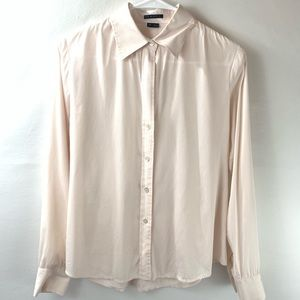 Theory Womens Button Down Long Sleeve Larissa s